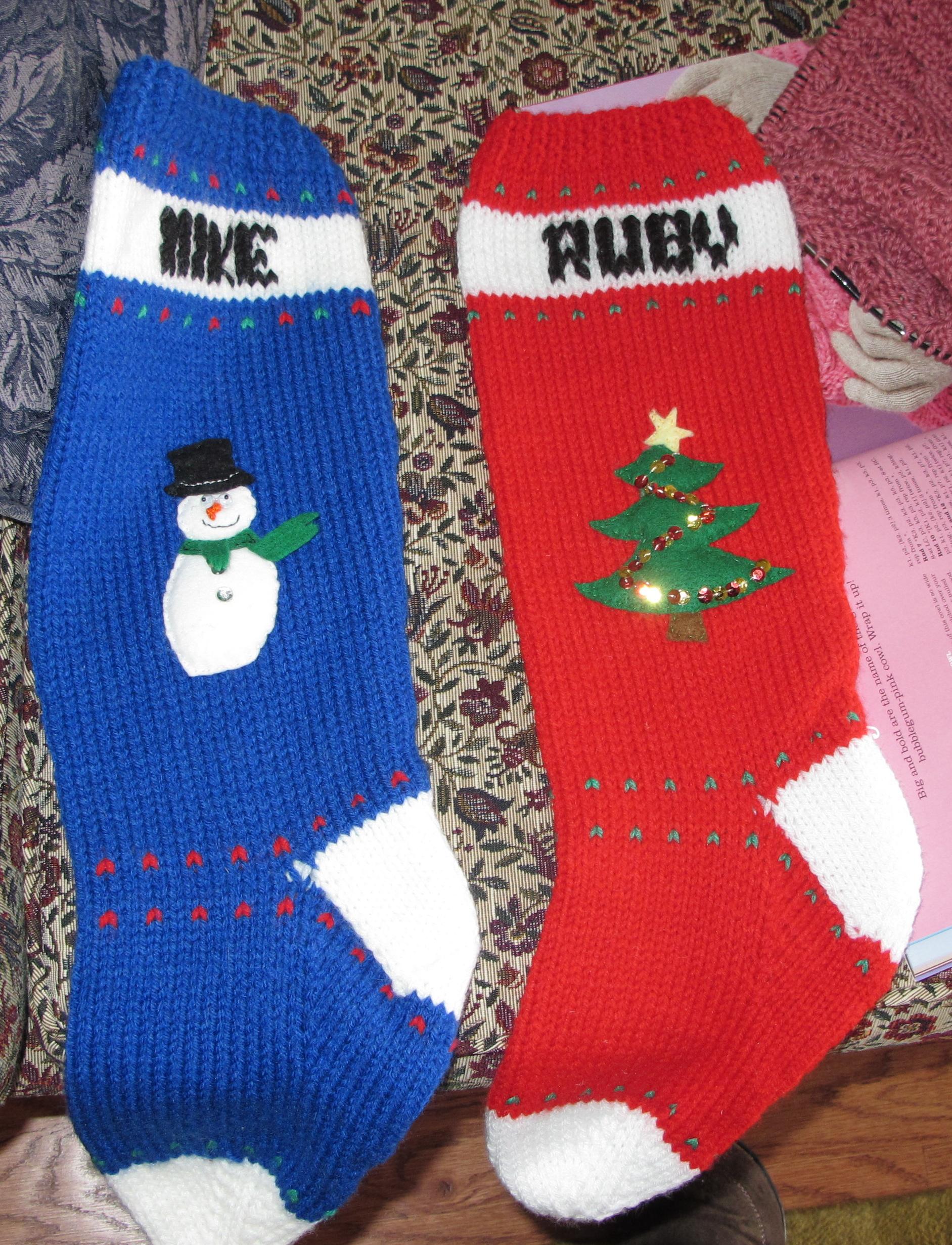 Knitting Christmas Stocking Pattern Free.The Christmas Stocking Assignment Wool Free And Lovin Knit