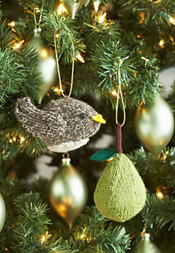 Three Christmas Ornaments To Knit In July Wool Free And