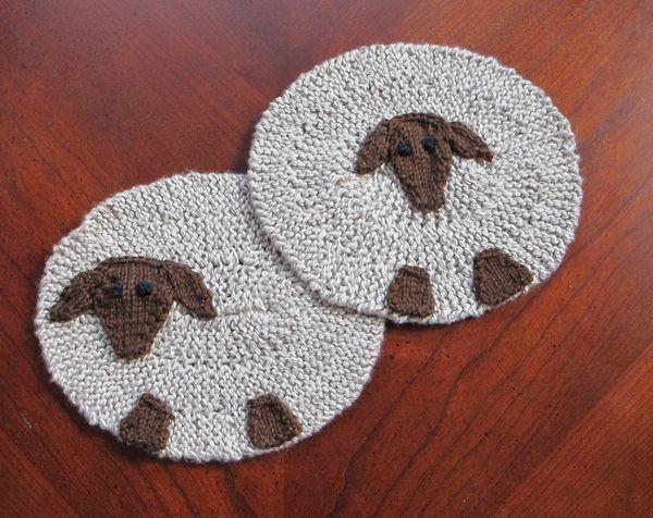 A Sheep's Mug Mat