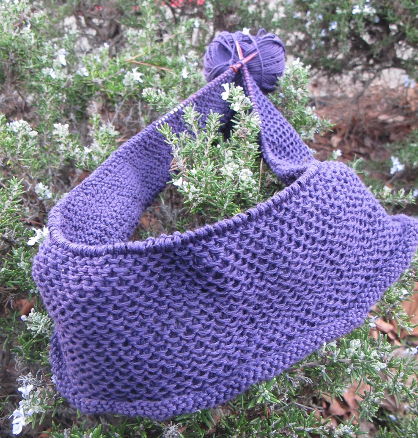 It\'s a Cowl, Honey - Wool Free and Lovin\' Knit